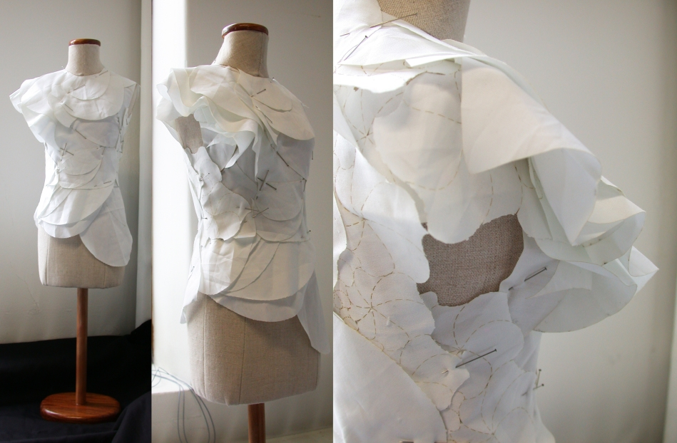 Kindest Cut: Garment designed from Hyperbolic tessellation