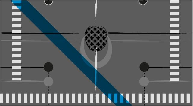 Cropped T pattern