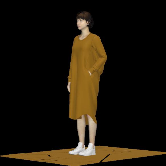 orange dress quarter_02