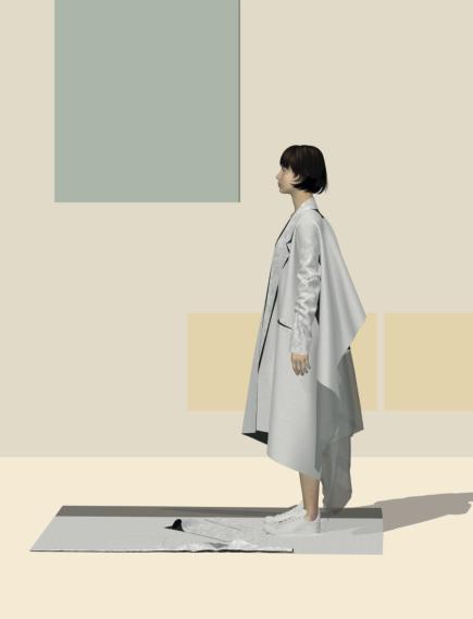 Digital design experiment: coat