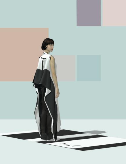 Digital design experiment: dress